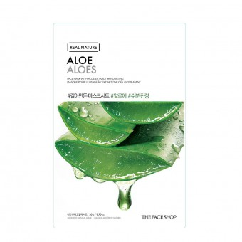 Real Nature Face Mask  Aloe